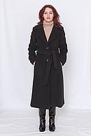 Пальто женское кашемировое серое/ пальто жіноче сіре