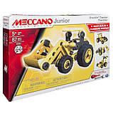 Конструктор Meccano Junior Трактор 87 деталей 6027019, фото 6
