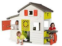 Игровой детский большой Домик для друзей c чердаком и звонком Smoby 310209