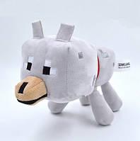 Мягкая игрушка герои Майнкрафт - Волк 22 см - Wolf