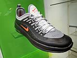 Чоловічі кросівки в стилі air max Wmns Axis Gray & Black, фото 2