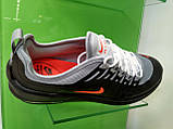 Чоловічі кросівки в стилі air max Wmns Axis Gray & Black, фото 5