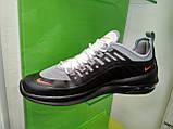 Чоловічі кросівки в стилі air max Wmns Axis Gray & Black, фото 6