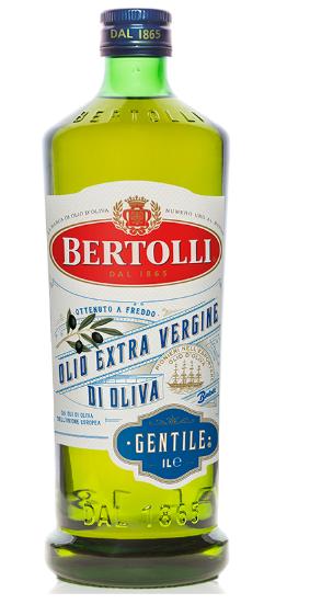 Оливковое масло Bertolli Gentile extra vergine 1л