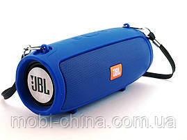 JBL XTREME mini J011 6W копия, блютуз колонка с FM MP3, синяя, фото 3