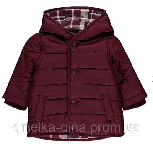 Модная весенняя курточка на мальчика 18-24 мес
