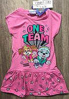 Платье для девочек оптом, Disney, 2-8 лет,  № PAW-3-1963