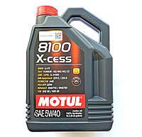 Масло Motul 8100 X cess 5w40 (синтетика)