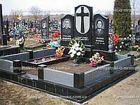 Двойное надгробие из гранита № 65