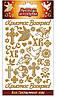 Наклейка пасхальная для яиц, Золотые (Ангелы и голуби) уп25