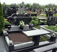 Двойное надгробие с формой сердца № 67