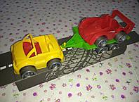"""Набор машин """"Kid cars"""" Кабриолет+гонка (3 шт.)"""