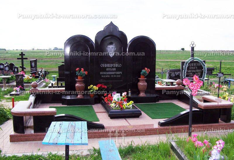 Двойное надгробие № 74