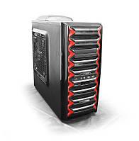 """Корпус LogicPower LP-9905; ATX;5x5.25"""", 4xHDD; Fan 250мм"""