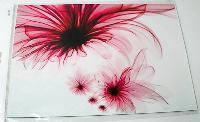Наклейка на ноутбук Maxxtro 0793, цветок, универсальная