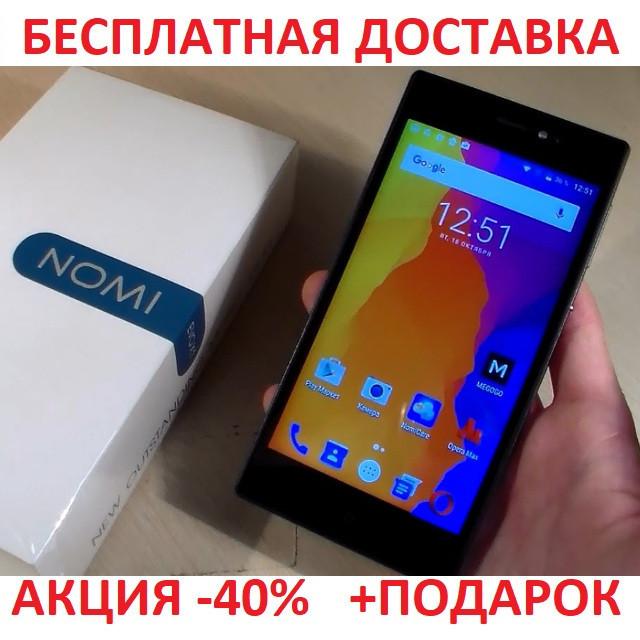 """Сенсорный мобильный телефон Nomi i5030 Evo X Silver смартфон 5"""" Android 1Gb/16Gm"""