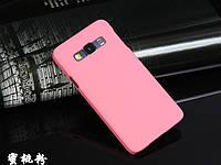 Пластиковый чехол для Samsung Galaxy A5 A500 розовый, фото 1