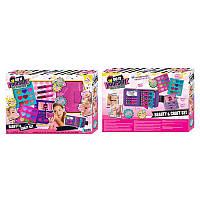 Детская косметика,тени, помада, блеск, сумочка, косметичка - книжка, безопасный детский make up, J-213