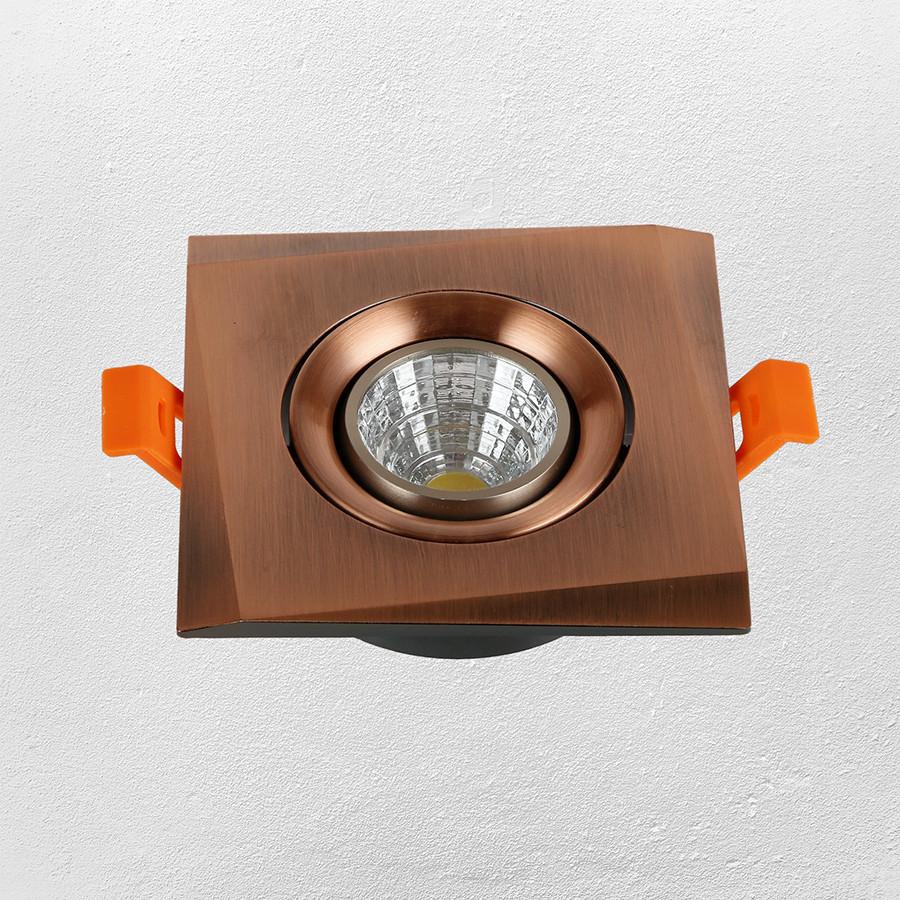 Точечный врезной светильник   47-1241 RED AB