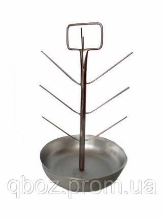 Ёлка с алюминиевой тарелкой, фото 2
