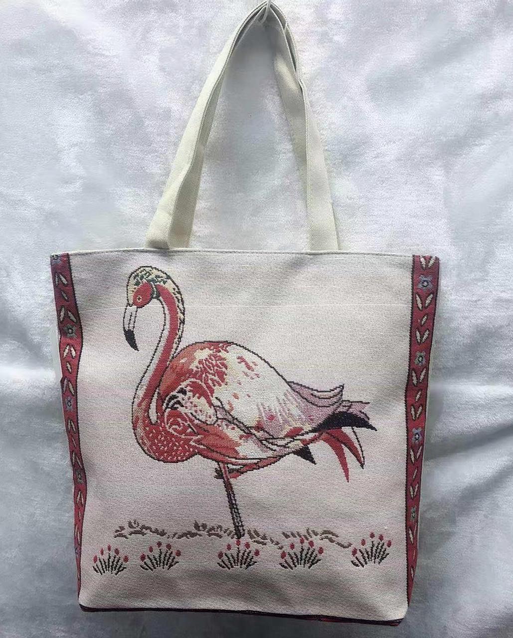 fc663ae7d1f9 Пляжная сумка женская с фламинго, цена 190 грн., купить в Одессе ...