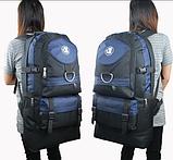 Рюкзак Lixing туристический синий, фото 2