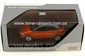 Модель Audi A1 Sportback, Samoa orange, Scale 1 43