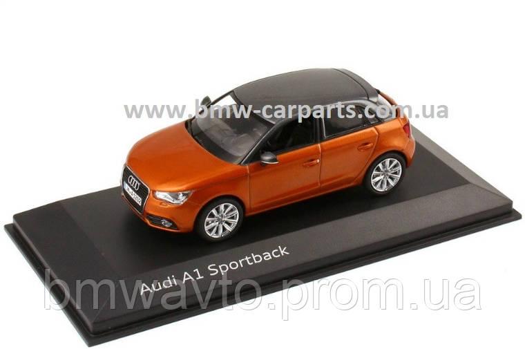 Модель Audi A1 Sportback, Samoa orange, Scale 1 43, фото 2