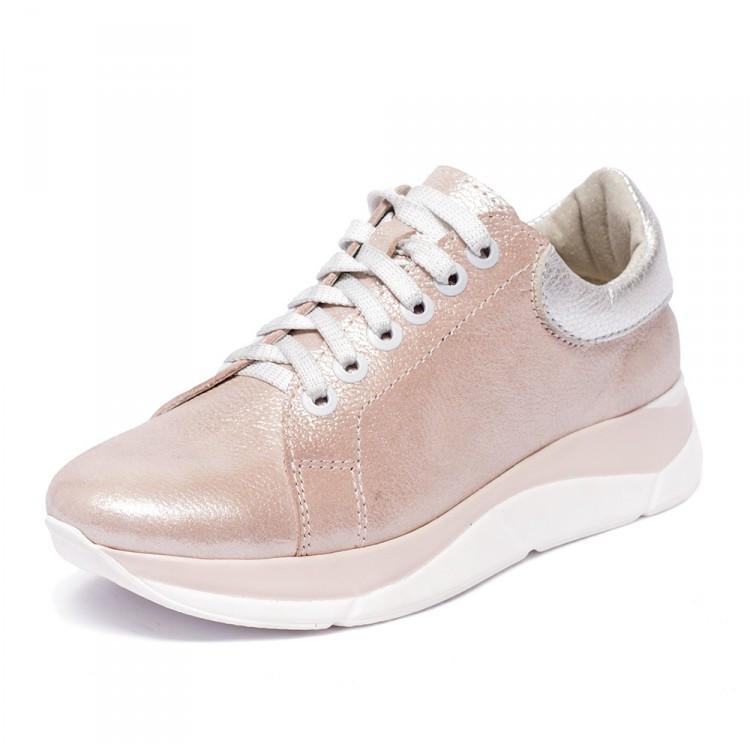 Кроссовки нежно розовые 805-07