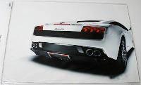 Наклейка на ноутбук Maxxtro 3167, Lamborghini, универсальная