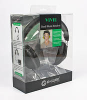 Наушники G-Cube GHV-170 BK с микрофоном Vivid