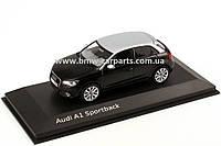 Модель Audi A1 Sportback,Scale 1 43