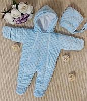 Комбинезон-человечек  для новорожденных  Минки