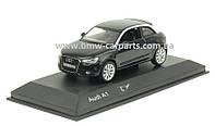 Модель автомобиля Audi A1 Black, Scale 1 43