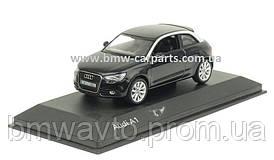 Модель автомобіля Audi A1 Black, Scale 1 43