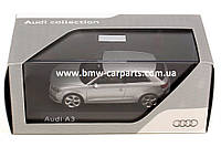 Модель Audi A3, Ice silver, 2013, Scale 1 43