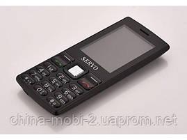 Телефон Servo V9300. Цвета: черный белый, желтый, фото 3
