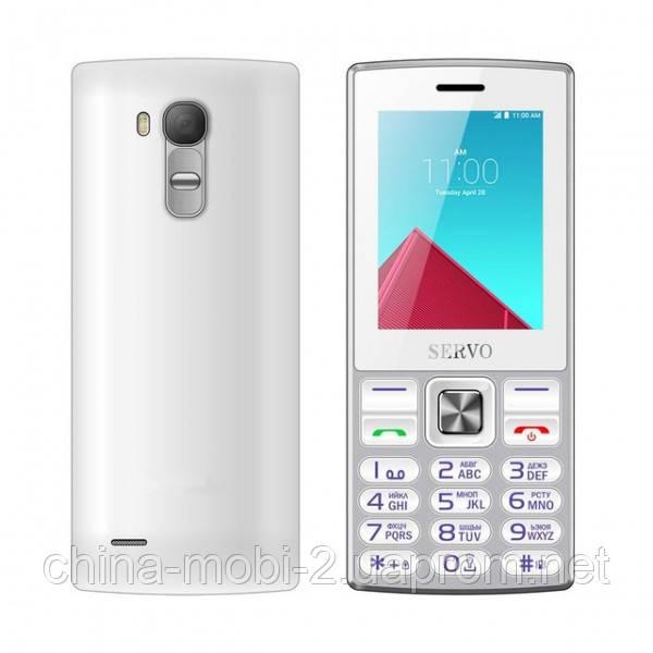 Телефон Servo V9300. Цвета: черный белый, желтый