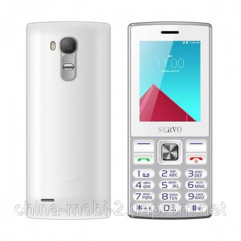 Телефон Servo V9300. Цвета: черный белый, желтый, фото 2