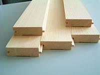 Доска половая деревянная шпунтованная Смерека/Ель 100*30*3000мм