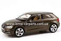 Модель Audi A3, Dakota grey, Scale 1 43