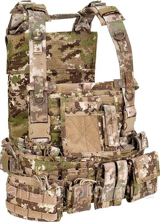 Жилет Тактический Defcon 5 M.O.L.L.E. Recon Harness Multiland. Цвет - Мультилэнд (D5-701Tac Ml) - Экшен Стайл в Днепре