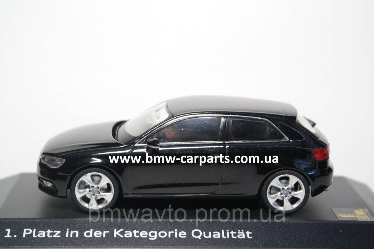 Модель Audi A3, Phantom black, 2013, Scale 1 43, фото 2