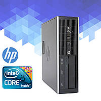 Компьютер HP DC8200 SFF (Core i5 2400 3.4 ГГц, 4 ГБ ОЗУ, 250 HDD, Windows 7) + Клавиатура и Мышка в Подарок!