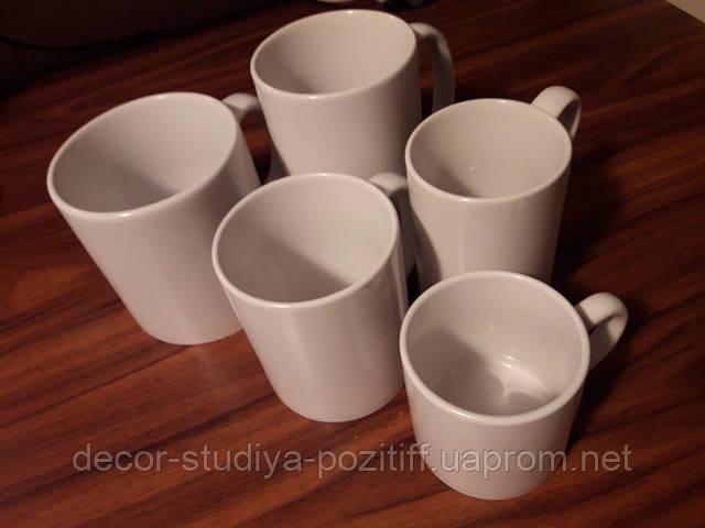 чашки белые для печати фото