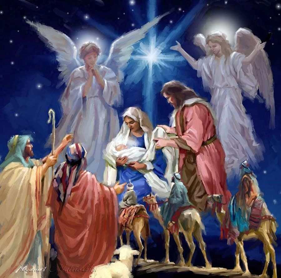 Картина по номерам Дух Рождества 40 х 50 см (VP996)