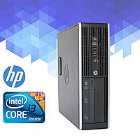 Компьютер/ Системный блок HP DC8200 (Core i3-2100 3.1 ГГц, 4 ГБ ОЗУ, 250 HDD, Windows 7)
