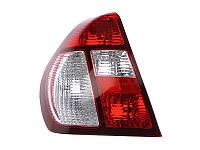Фонарь задний Renault Symbol I 2002-2008 левый красно-белый 551-1932L-UE-CR