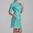 Медицинский красивый халат с цветными вставками р.42-64, фото 4
