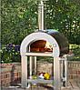 5 Minuti - Піч для піци на дровах. Піци: 2 шт. Alfa Pizza. Італія
